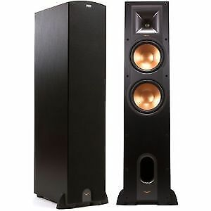 Klipsch R-28F Reference Floorstanding Speaker – Black – Pair