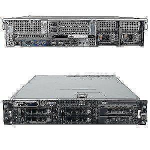 Dell 2950 1950 HP DL360 G5 IBM X3550 Server 4 8 Cores 1 2 Xeons