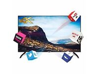Finlux 43 Inch Ultra HD Smart 3D Netflix 4K LED TV Freeview HD (43UT3E310B-T) RRP £549.99