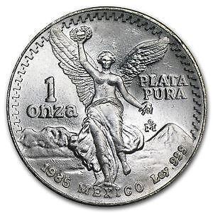1 Oz Mexican Silver Coins