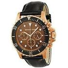 Michael Kors Black Leather Watch