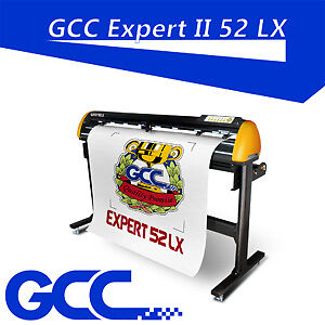 GCC 52 LX II Vinyl cutter Automatic-Aligning eye auto-detection