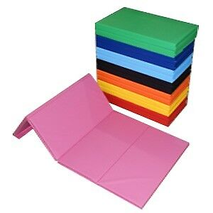 Gymnastic mat New 4ft x 8ft x 2in Folding Mat Pink