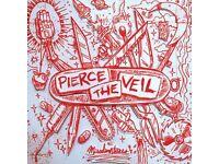 Pierce The Veil, Of Mice&Men, CDs plus other. Div. Merch added gratis. Just make an offer.