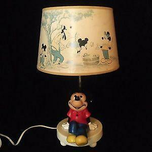 Mickey Mouse Lamp Ebay
