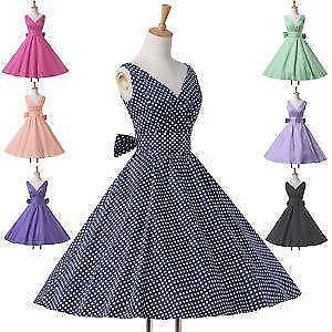 Vintage Rockabilly Dress a220b2245