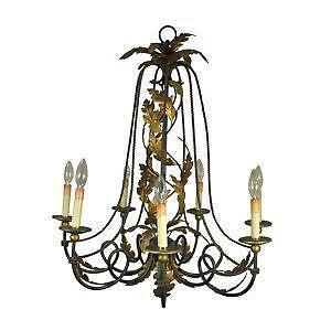 Italian chandelier ebay italian tole chandeliers aloadofball Choice Image