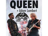 3 x Queen + Adam Lambert tickets @ London O2