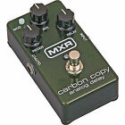 Analog MXR Guitar Delay, Echo & Reverb Pedals