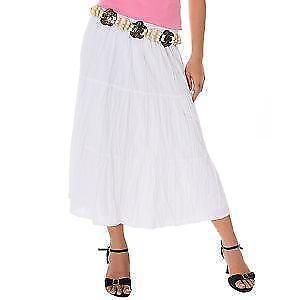 9d177064178 White Broomstick Skirt