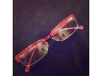 ETRO glasses with designer frames (+0 50 lenses) Good condition