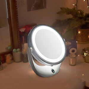 Magnifying Vanity Mirror with Light