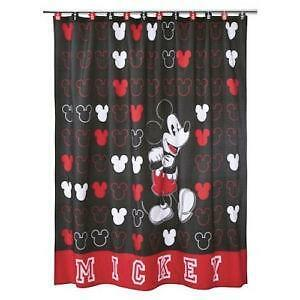 mickey mouse bedroom curtains mickey mouse curtains ebay 16182