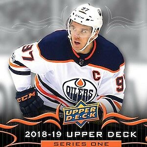 2018-19 Upper Deck Series 1 Hobby Boxes
