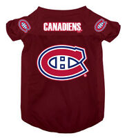 Licenced Hunter NHL Montreal Canadiens Jersey for Dogs.[new]