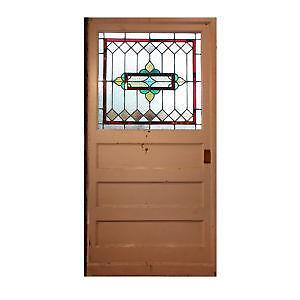 Stained glass door ebay stained glass entry doors planetlyrics