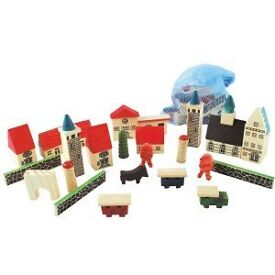 House of Marbles Village in a Bag **New Unused and Ex Stock**