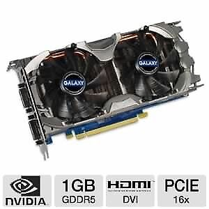 Two Galaxy GeForce 560TI graphics cards