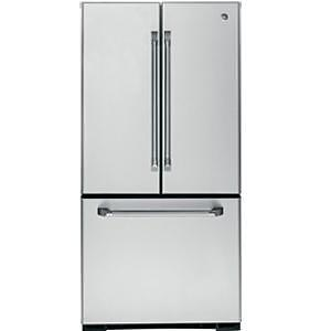 GE CAFE Bottom-Mount, French Door Refrigerator with Inter
