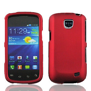 For Samsung Galaxy Proclaim SCH-S720C Rubberized HARD Case Phone Cover Red