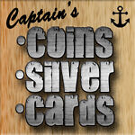 Captain's Coins Cards and Silver