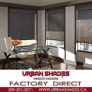 Buy Direct from factory... Blinds and Shades!!