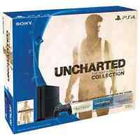 PS4 Console w/ Uncharted - Nat. Drake Bundle - WILL DELIVER