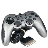 PS2 Logitech Controller and PS2 Memory Cards