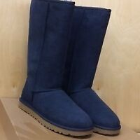 UGGS Navy Tall boots, ladies size 7 BRAND NEW