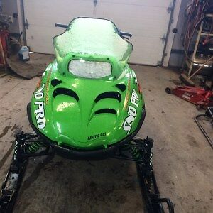 Parting Out 2001 Arctic Cat ZR 600