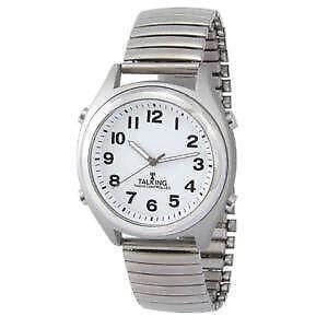 talking watch atomic talking watches