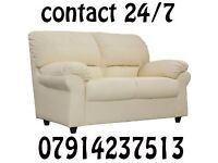 3&2 or Corner Leather Sofa Range Cash On Delivery 9909