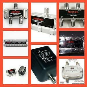 Weekly Promo!   ANTRONIX 2-WAY Splitter, 3-WAY Splitter , 4-WAY Splitter, 12-WAYSplitter, Amplifier S