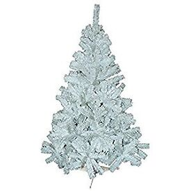 6ft Pine Christmas Tree in White