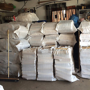 """Huge 100lb Birch Firewood Bags $35 """"FREE DELIVERY**"""""""