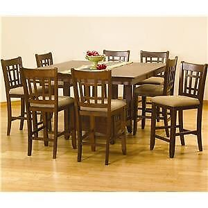 Table for Sale (unique style) , 8 chairs included