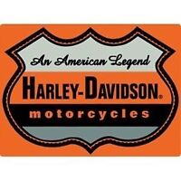 Harley Davidson American Legend Embossed Tin Sign (New)