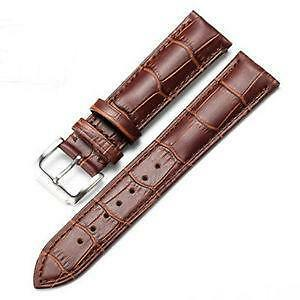 4fbe9e884600 Leather Watch Strap 20mm