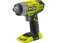 Ryobi One+ Cordless 18V Impact Driver without Batteries RID1801M **BRAND NEW**