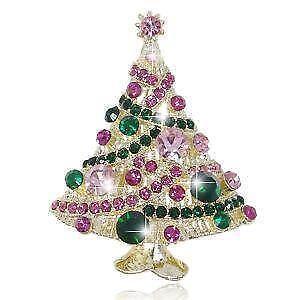 swarovski christmas pins - Christmas Pins
