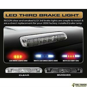 RECON LED FORD TRUCK PICKUP F250 F350 SUPER DUTY NEW THIRD BRAKE