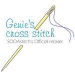 Genie's cross-stitch