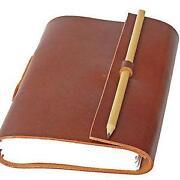 Notizbuch A6 Leder