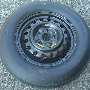 Jeep Dodge Compact Spare Tire on Rim