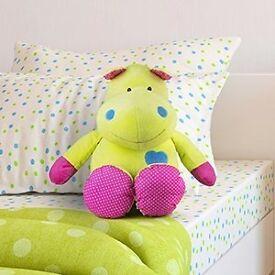 BIG Beverly Hills Teddy Harley the Hippo Plush Toy