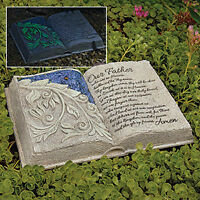 "Beautiful Lord's prayer garden book ""glow in dark"""
