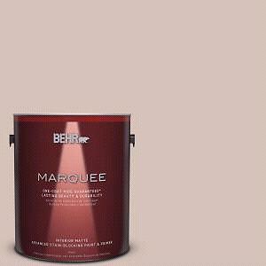 Behr Marquee Paint- Matte. Creamy Mushroom