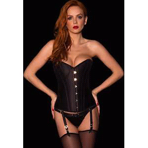 Honey Bordered Coco Black Corset Size M Cremorne North Sydney Area Preview