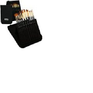Artify 12 Pcs Paint Brush set | Pop-up Stand Carrying All in One