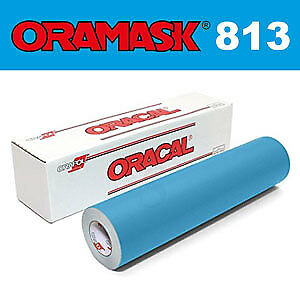 """ORACAL® Oramask 813 Stencil Film 24"""" x 5Yd for paint and spray"""